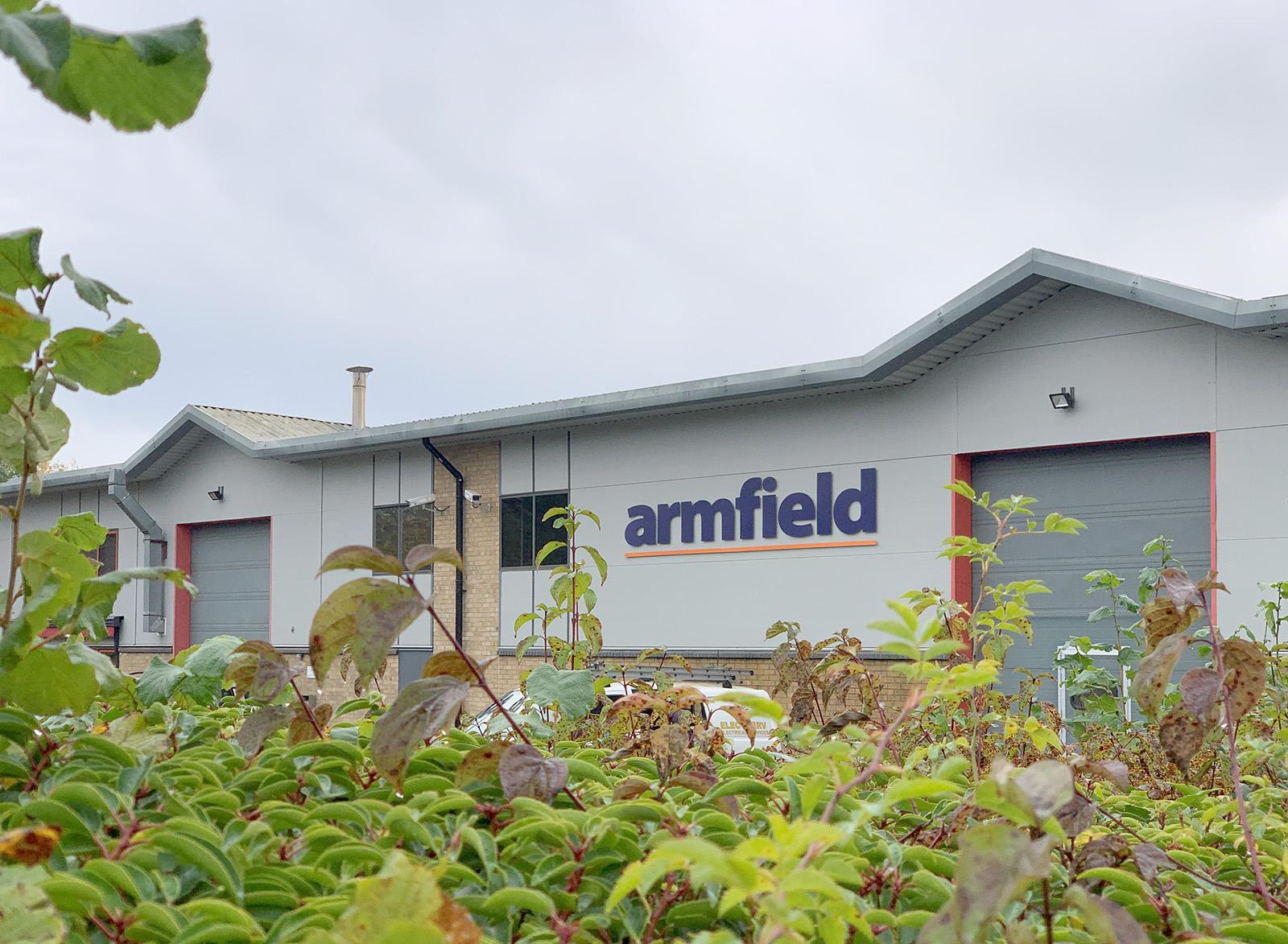 New Armfield Website!