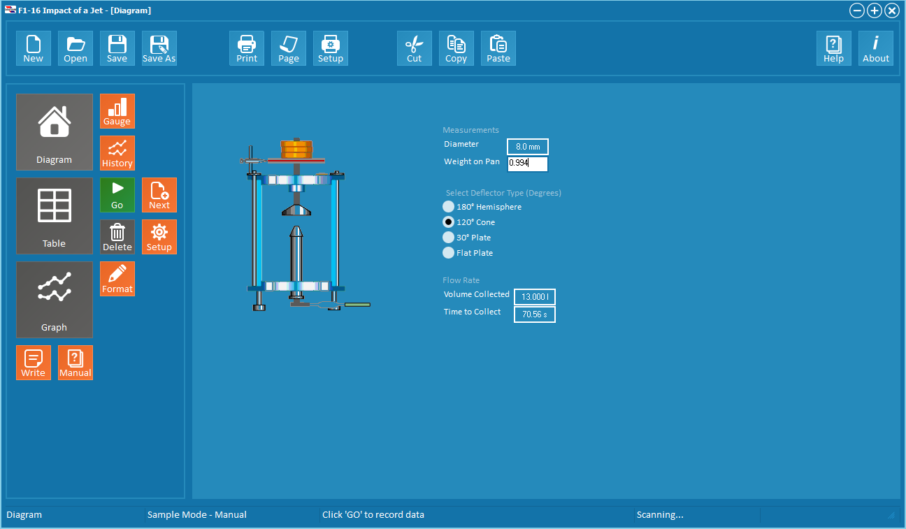 armSOFT Software F1-aBASIC (included as standard with either of the hydraulic benches)