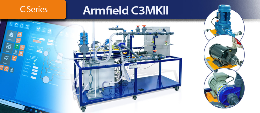 Armfield C3 Multi-pump Test Rig
