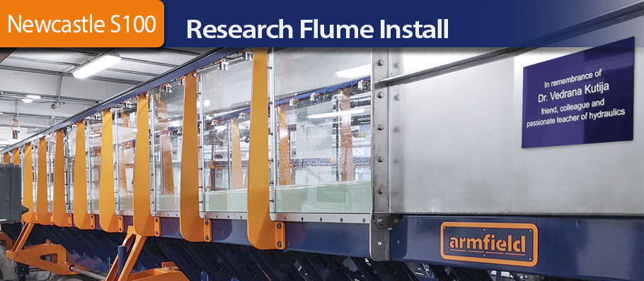 Newcastle S100 Research Flume