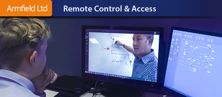 Armfield Remote Controlled Equipment