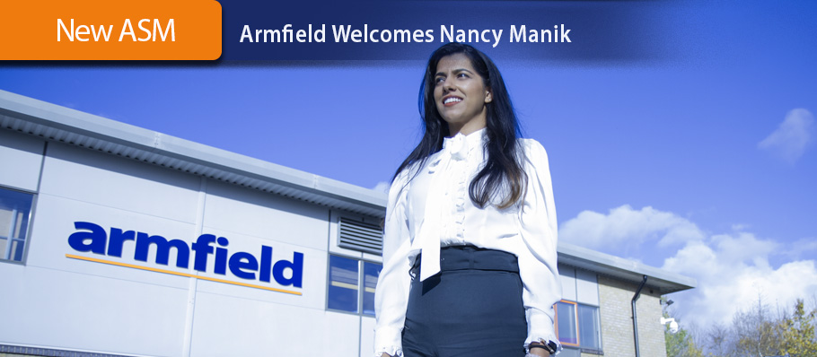 Armfield welcomes Nancy Manik
