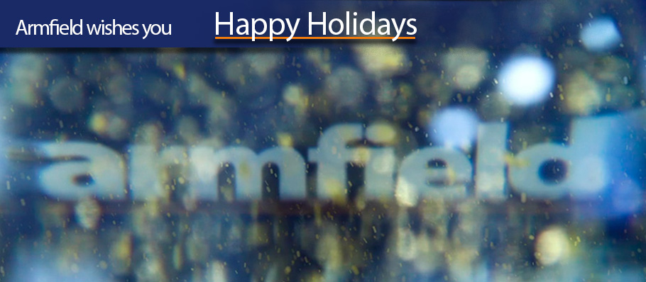 Happy Holidays from us all at Armfield
