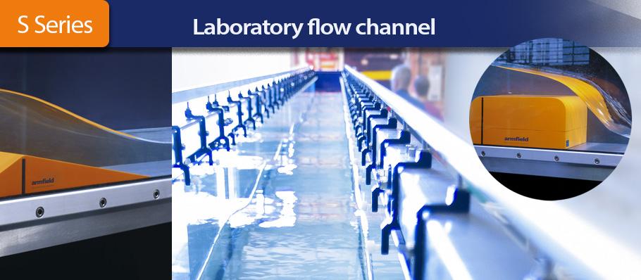 Armfield's laboratory flow channel